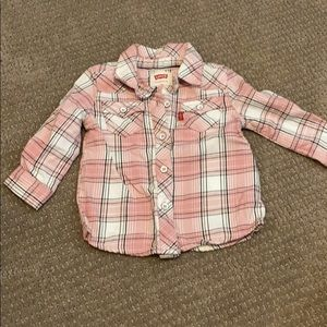 Levi's baby flannel